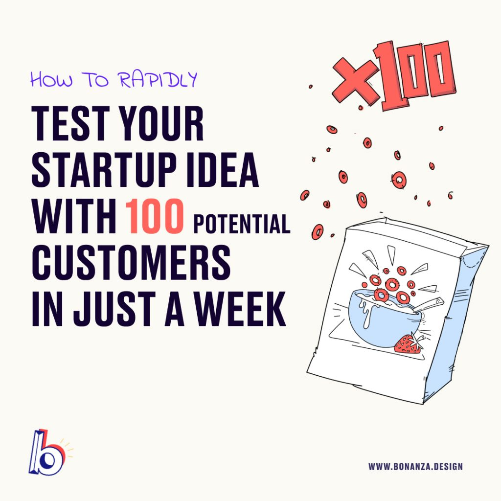 HOW TO RAPIDLY TEST YOUR IDEA WITH 100 CUSTOMERS IN A WEEK