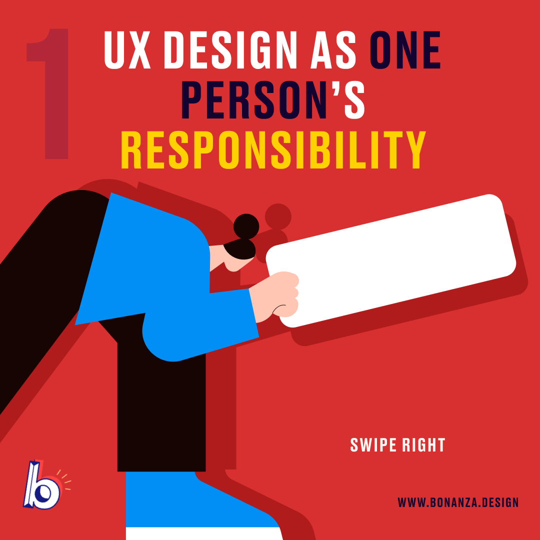 UX as one person responsibility