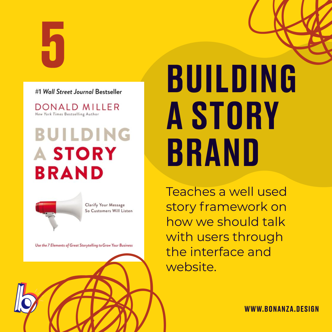 UX books Building a story brand